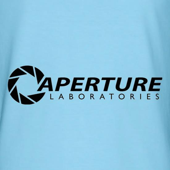 Aperture Laboratories t shirt